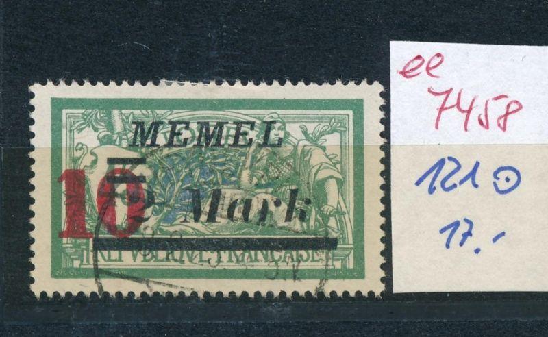 Memel Nr. 121     (ee7458  ) siehe scan