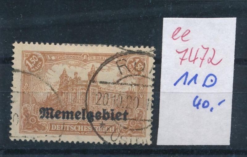 Memel Nr. 11     (ee7472  ) siehe scan