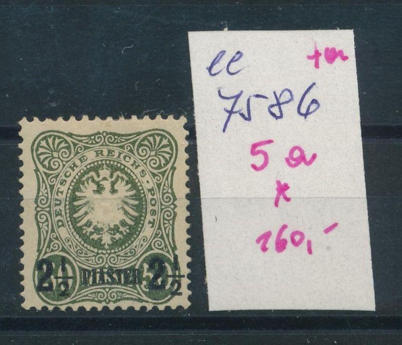 DP.-Türkei   Nr.   5  *  (ee7586  ) siehe scan
