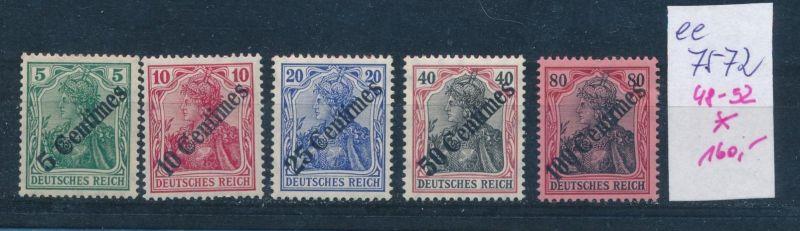 DP.-Türkei   Nr.   48-52  *   (ee7572  ) siehe scan