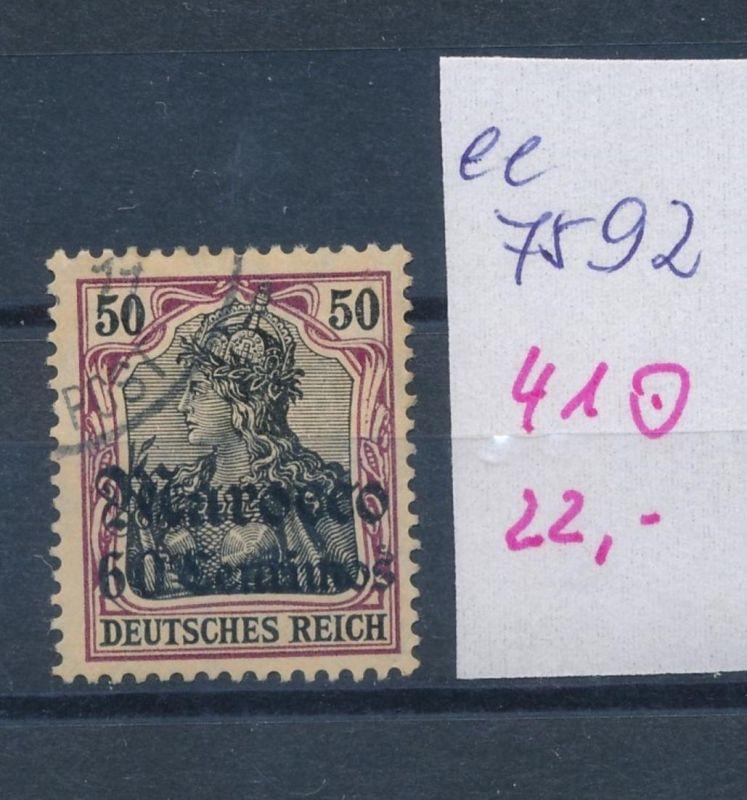 D.-Post Marokko  Nr. 41  o  (ee7592  ) siehe scan