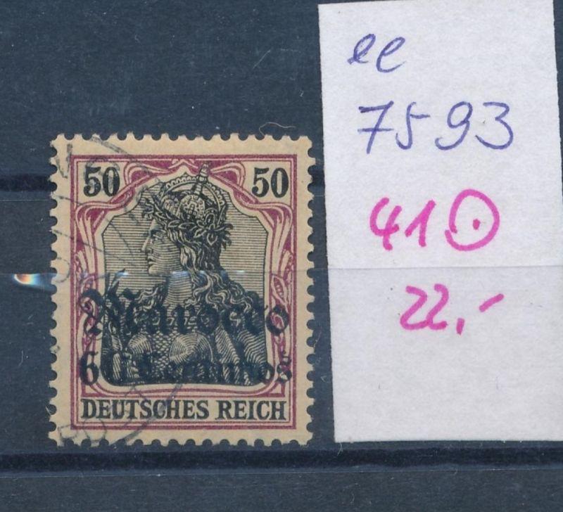 D.-Post Marokko  Nr. 41  o  (ee7593  ) siehe scan