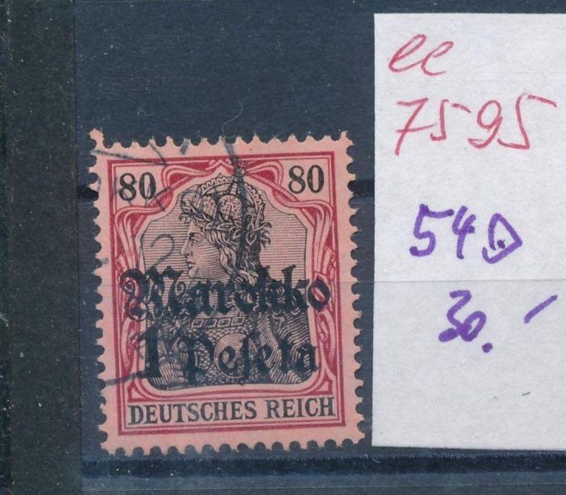 D.-Post Marokko  Nr. 54  o  (ee7595  ) siehe scan