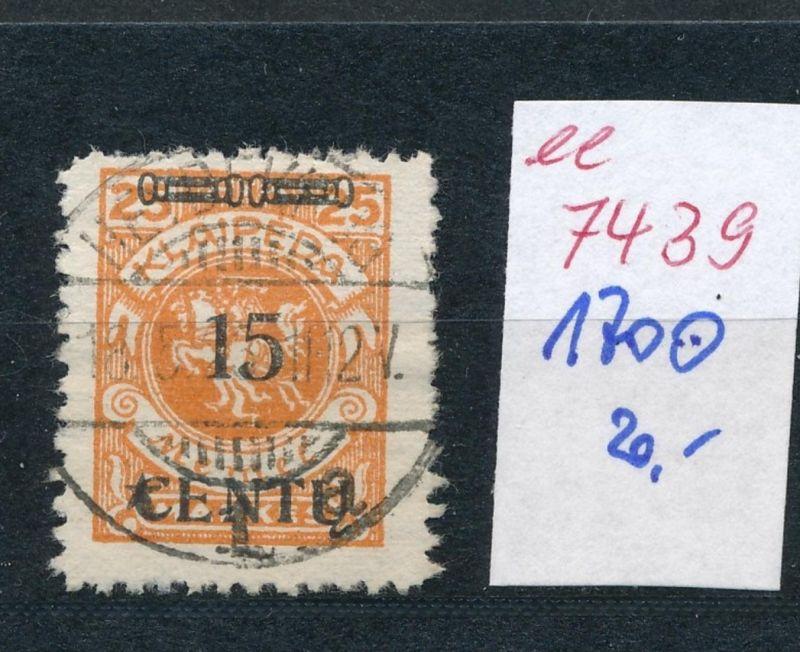 Memel    Nr.  170  o     (ee7439  ) siehe scan