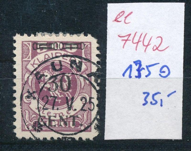Memel    Nr.  175  o     (ee7442  ) siehe scan