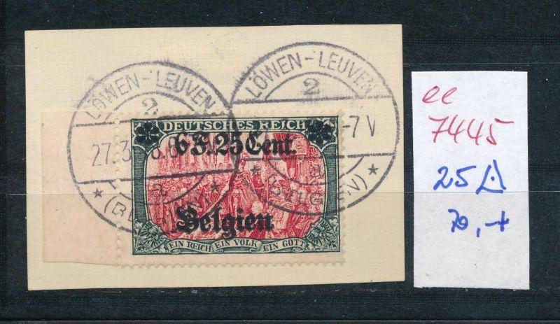 D.-Post Belgien    Nr.  25  o     (ee7445  ) siehe scan