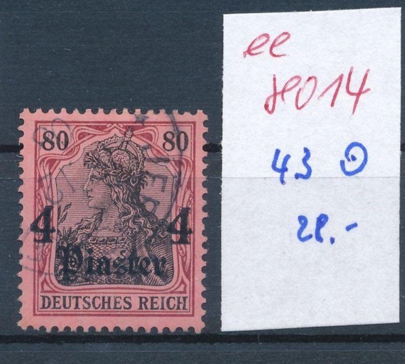 D.Post Türkei   -Nr. 43 o     (ee8014  ) siehe scan