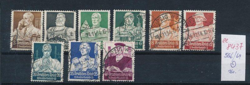 D.-Reich Nr. 556-64  o   (ee8437  ) siehe scan