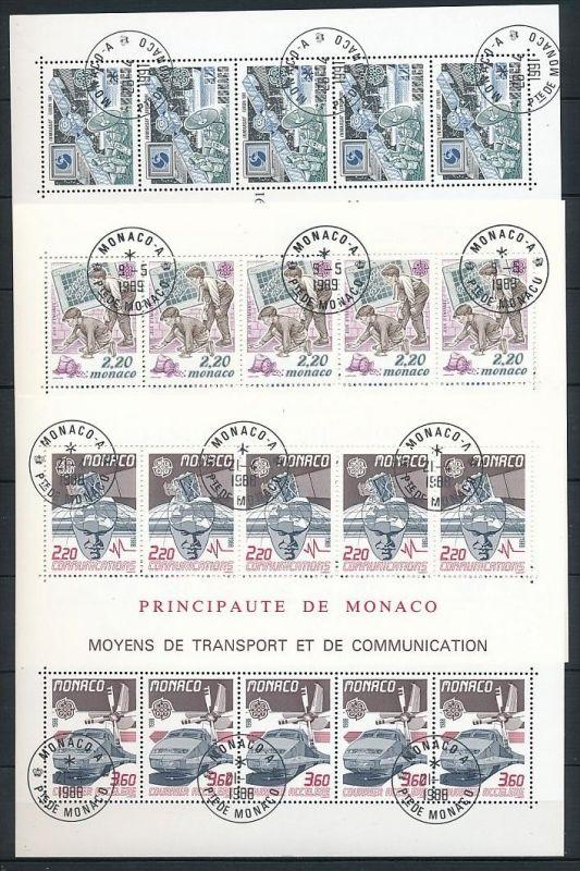 Monaco Block Lot  220,- €   o (ze7370  ) siehe scan ! 1