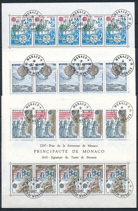 Monaco Block Lot  220,- €   o (ze7370  ) siehe scan ! 2