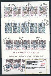 Monaco Block Lot  220,- €   o (ze7369  ) siehe scan !