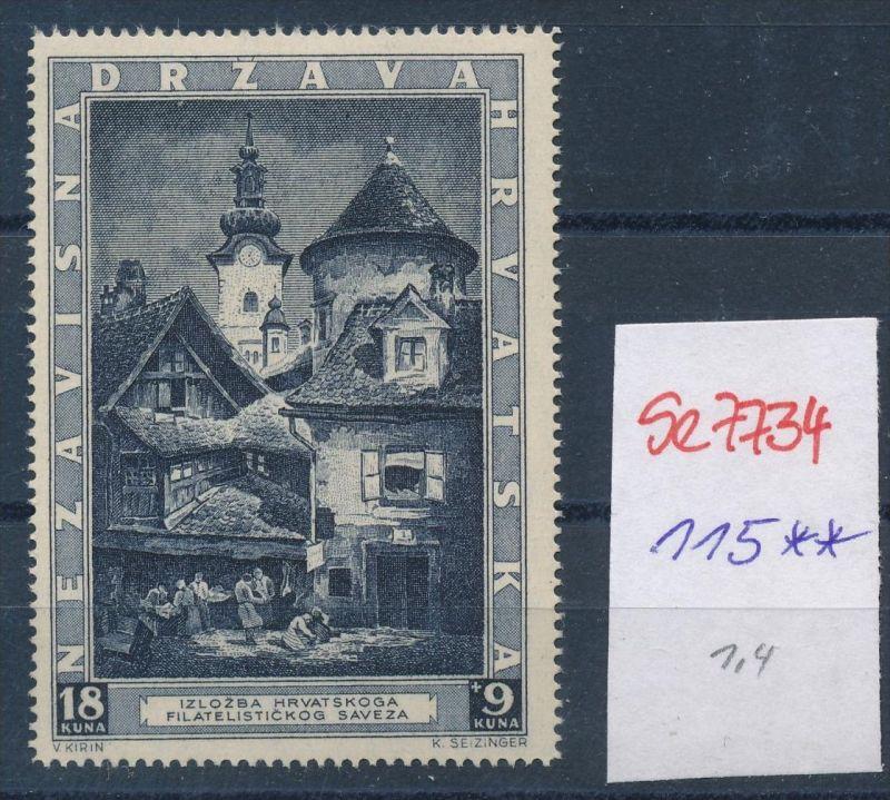Kroatien  Nr. 115   **   (se7734  ) siehe scan ! 0