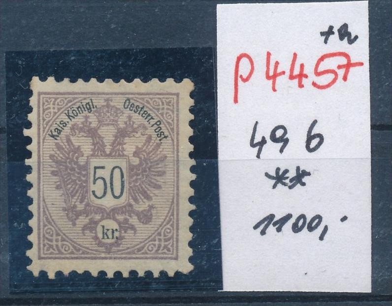 Österreich Nr. 49 b  **    (p4457  ) siehe Bild 0