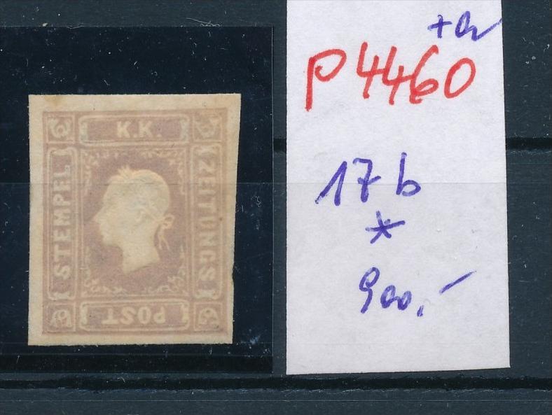 Österreich Nr. 17 b  *  (p4460  ) siehe Bild 0