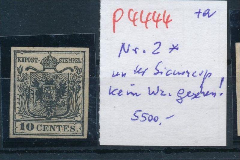 Österreich Levante  Nr. 2    *  (p4444  ) siehe Bild 0