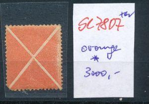 Österreich-Andreas Kreuz  orange ..... *      (se7807  ) siehe Bild