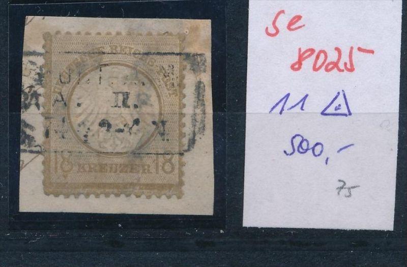 D.-Reich Nr. 11 o -Preise nach Erhaltung    (se8025  ) siehe Bild 0