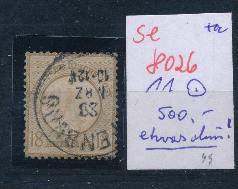 D.-Reich Nr. 11 o -Preise nach Erhaltung    (se8026  ) siehe Bild 0