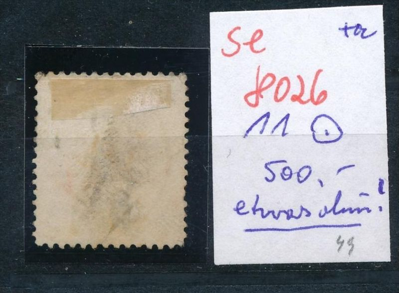 D.-Reich Nr. 11 o -Preise nach Erhaltung    (se8026  ) siehe Bild 1