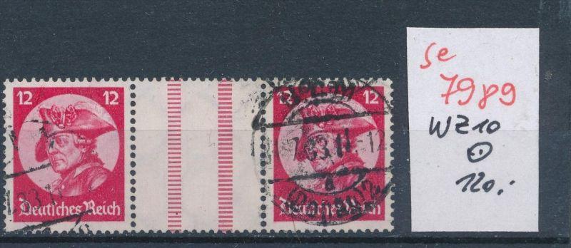 D.-Reich  Wz. 10  o   (se 7989  ) siehe Bild 0