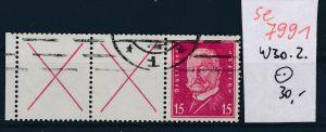 D.-Reich  w 30.2  o   (se 7991  ) siehe Bild