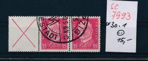 D.-Reich  w 30.1  o   (se 7993  ) siehe Bild