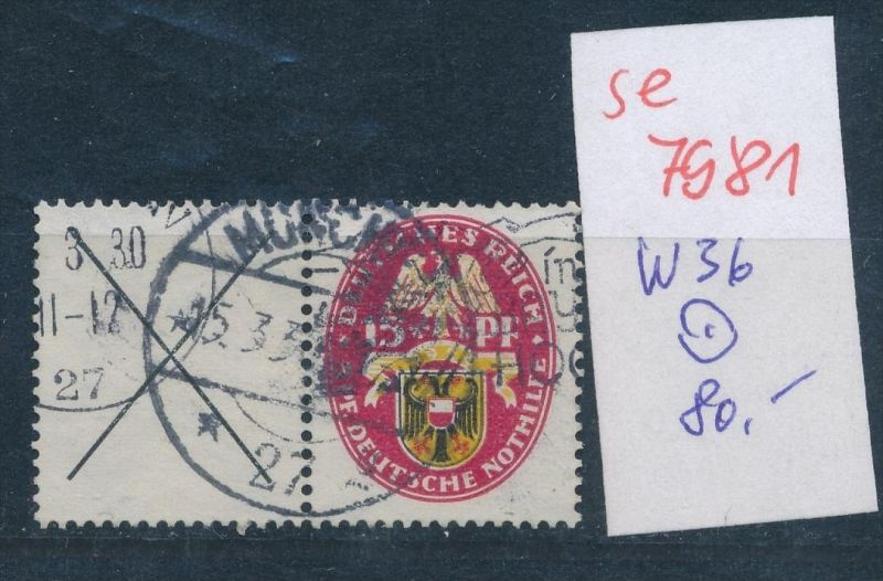 D.-Reich  w36  o   (se 7981  ) siehe Bild 0