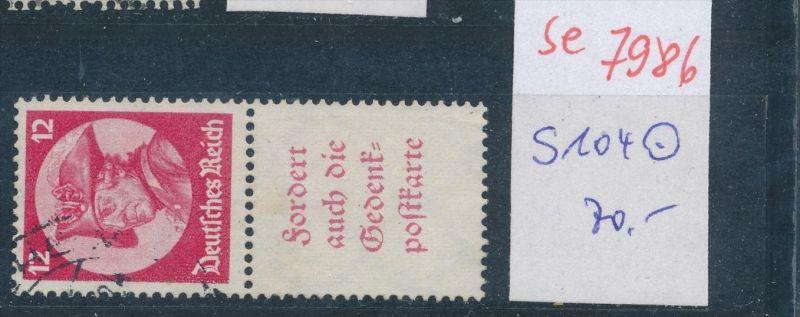 D.-Reich  s 104  o   (se 7986  ) siehe Bild