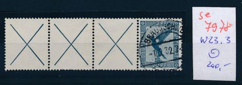 D.-Reich  w 21.3   o   (se 7978  ) siehe Bild