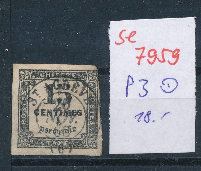 Frankreich Porto Nr. 3   o  (se 7959  ) siehe Bild