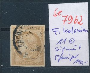 Frankreich Kolonien  Nr. 11   o geprüft  (se 7962  ) siehe Bild