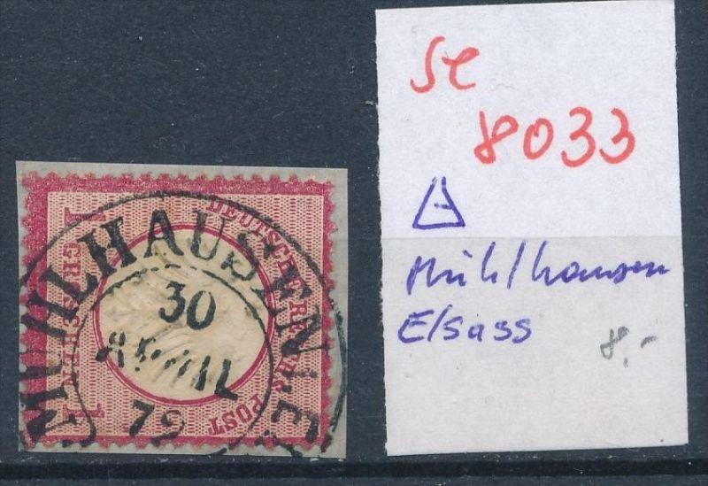 D.Reich-Stempel  !   (se 8033 ) siehe Bild