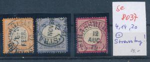 D.Reich-Stempel  !   (se 8037 ) siehe Bild