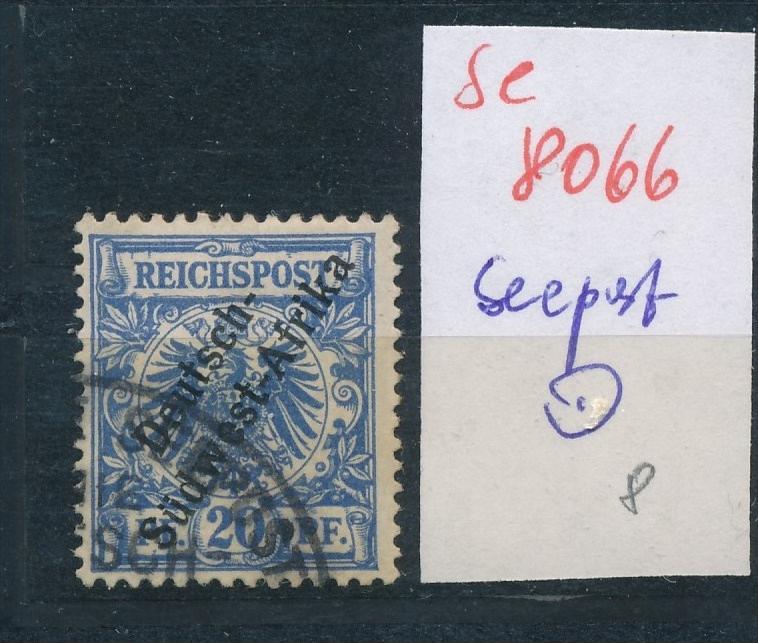 DSW -Seepost Stempel...  (se 8066  ) siehe Bild 0