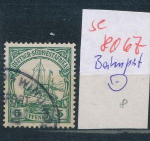 DSW - Bahnpost Stempel...  (se 8067  ) siehe Bild