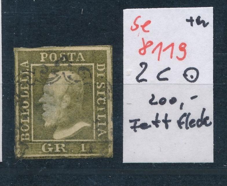 Sizilien  Nr. 2 c    o...  (se 8119  ) siehe Bild 0