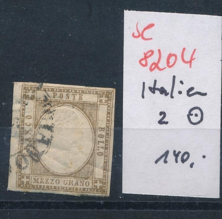 Italien   Nr. 2   o  (se 8204  ) siehe Bild 0