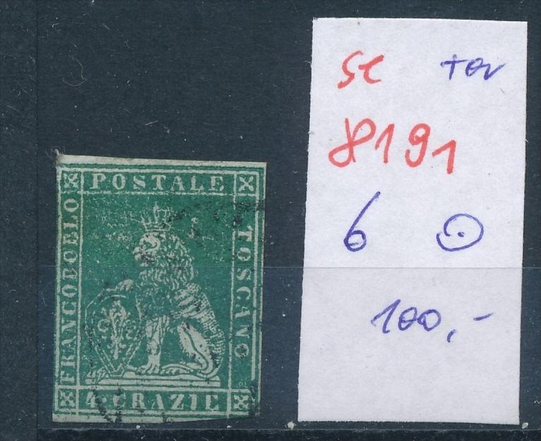 Toscana  Nr. 6  o  (se 8191  ) siehe Bild 0