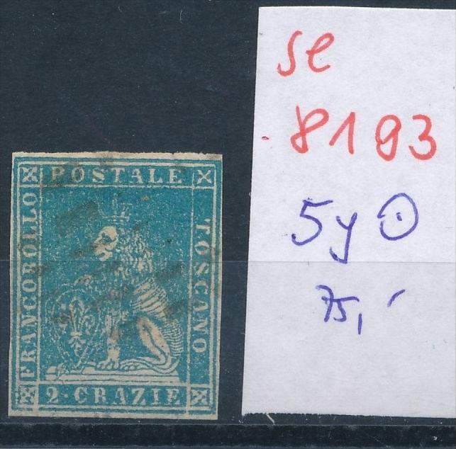 Toscana  Nr. 5yb   o  (se 8193  ) siehe Bild 0