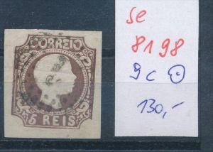 Portugal Nr. 9c      o  (se 8198  ) siehe Bild