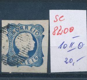 Portugal Nr. 10 II    o  (se 8200  ) siehe Bild