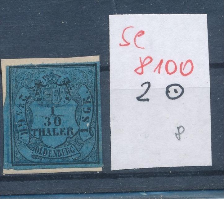 Oldenburg  Nr. 2   o  (se 8100  ) siehe Bild 0