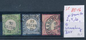 D.-Reich -3 super Stempel   (se 8016  ) siehe Bild