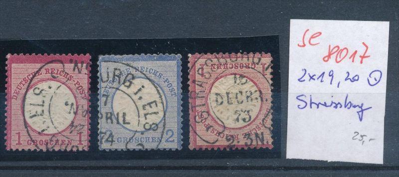 D.-Reich -3 super Stempel   (se 8017  ) siehe Bild