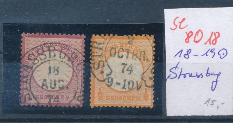 D.-Reich -2 super Stempel   (se 8018  ) siehe Bild