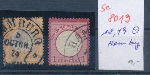 D.-Reich -2 super Stempel   (se 8019  ) siehe Bild