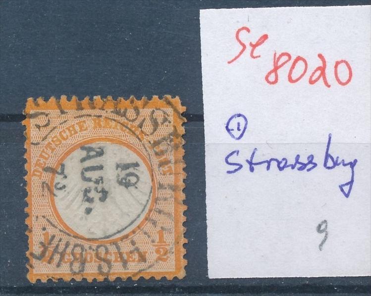D.-Reich - super Stempel   (se 8020  ) siehe Bild