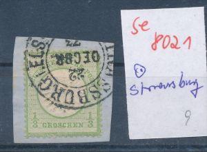 D.-Reich - super Stempel   (se 8021  ) siehe Bild