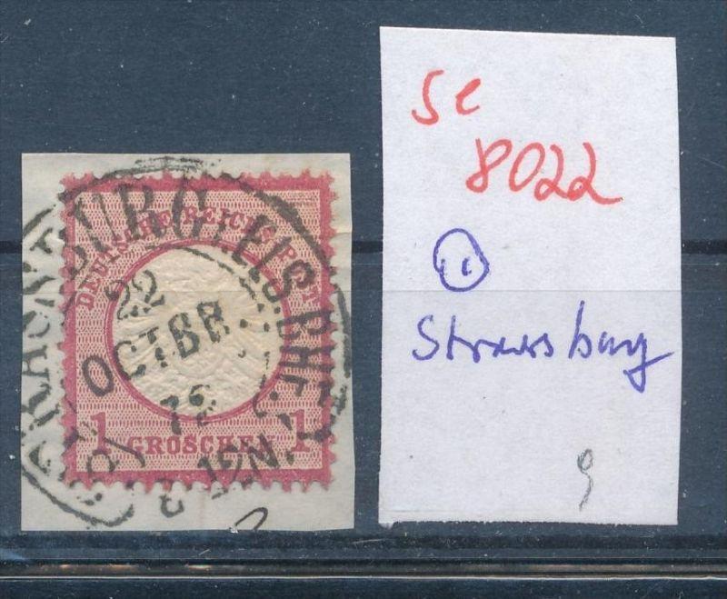 D.-Reich - super Stempel   (se 8022  ) siehe Bild