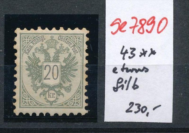 Österreich Nr. 48   **   (se 7890 ) siehe Bild 0